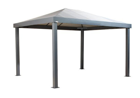 Sojag™ 10x12ft Monteserra Grey Gazebo with Mosquito Netting Gazebo SOJAG