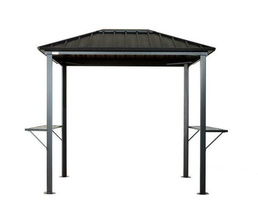 Sojag™ 6x8 ft. Dakota Grill Gazebo Steel Roof Gazebo SOJAG