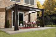 Image of Sojag™ Budapest 10x12 Patio Gazebo Netting and Curtains Included - The Better Backyard
