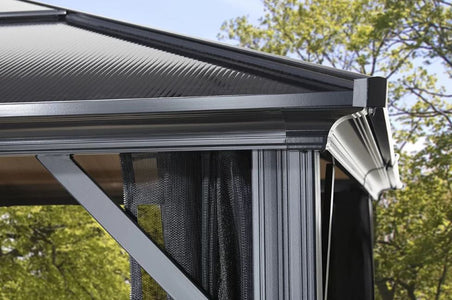 Sojag™ Meridien Gazebo with Mosquito Netting - The Better Backyard