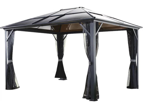 Image of Sojag™ Meridien Gazebo with Mosquito Netting - The Better Backyard