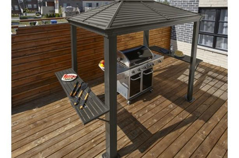 Image of Sojag™ Mykonos 5x8 BBQ Gazebo Shelter - The Better Backyard