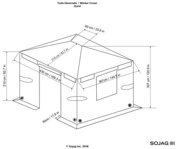 Sojag™ Universal Winter Cover - The Better Backyard