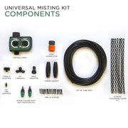 Image of Universal Outdoor Eco-Misting Kit with Timer Easy DIY Accessories Paragon-Outdoor