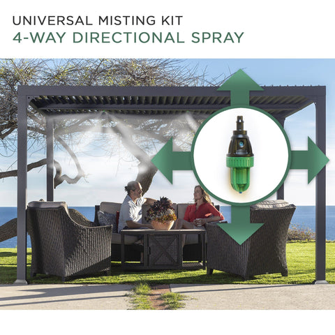 Universal Outdoor Eco-Misting Kit with Timer Easy DIY Accessories Paragon-Outdoor