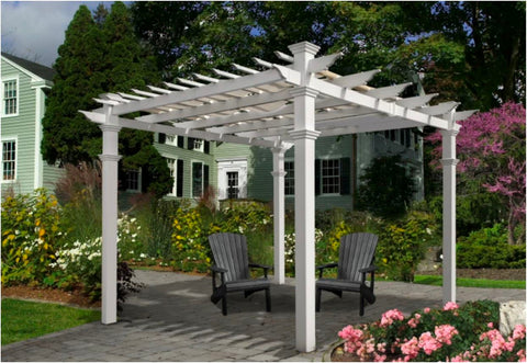 Image of Vita Canvas Weave Pergola Shade Accessories Vita