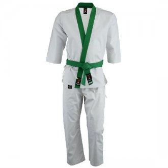 Tang Soo Do Green Trimmed Uniform
