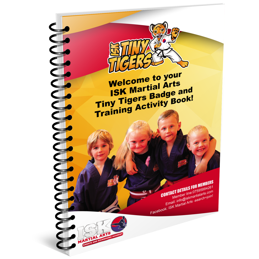 ISK Tiny Tigers Manual/Activity Book