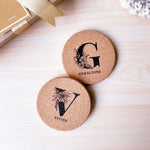 Cork Engraved Coaster
