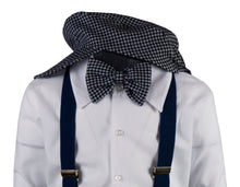 Load image into Gallery viewer, Plaid Checkered Knicker Outfit with Matching Suspenders (Archie)