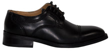 Load image into Gallery viewer, Round Lace Up Cap Toe Dress Shoe (Anthony)