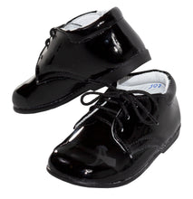 Load image into Gallery viewer, Plain Round Toe Lace Up Tuxedo Dress Shoes (Andrew)