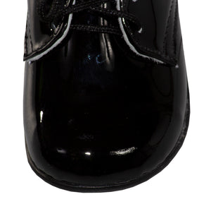 Plain Round Toe Lace Up Tuxedo Dress Shoes (Andrew)