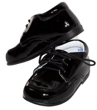 Load image into Gallery viewer, Round Toe Lace Up Tuxedo Shoes with Stitched Toe (Levi)