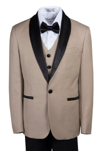 1 Button Slim Fit Shawl Collar Dinner Jacket - Trendy Colors (Max)