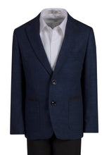 Load image into Gallery viewer, Knit Waffle Blazer Slim Fit Designer Suit (Maverick)