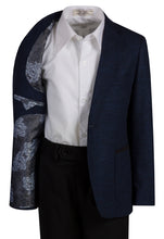 Load image into Gallery viewer, Knit Waffle Slim Fit Blazer Jacket (Evan)