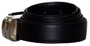 Adjustable Solid Colored Dress Belts (Jake)