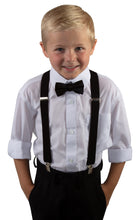 Load image into Gallery viewer, Suspender and Bow Tie Sets (Stetson)