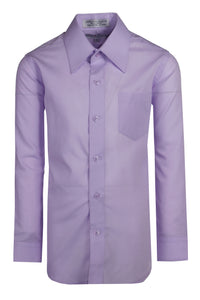 Formal Button Up Colored Dress Shirts - Trendy Colors (Colton)