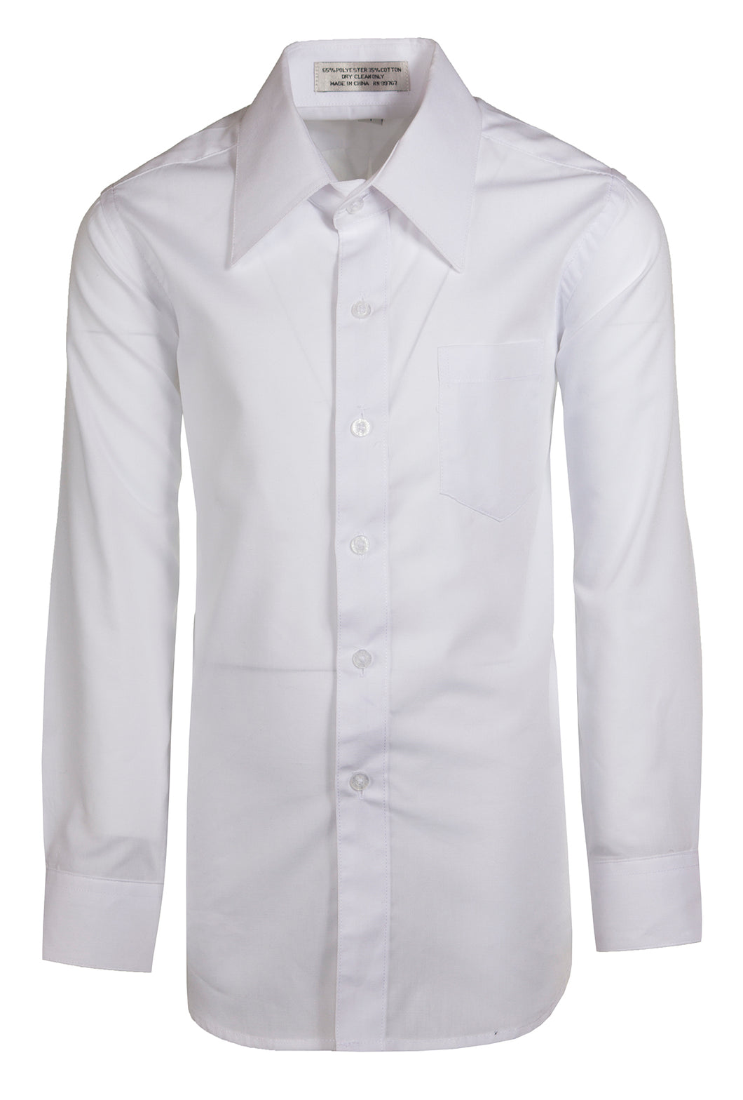 Formal Button Up Colored Dress Shirts - Classic Colors (Colton)