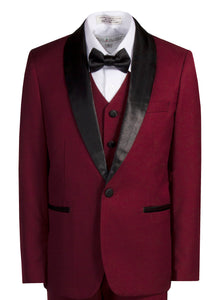 1 Button Slim Fit Shawl Collar Dinner Jacket (Carter)