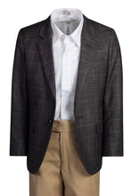 Load image into Gallery viewer, 1 Button Slim Fit Checkered Blazer Suit (Jackson)