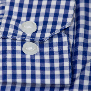 Standard Fit Checkered Button Up Dress Shirt (Kane)