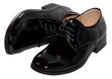 Load image into Gallery viewer, Basic Round Toe Patent Tuxedo Shoes (Declan)