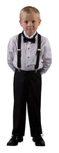 Load image into Gallery viewer, Basic 2 Button Notch Tuxedo with Matching Suspenders (Drake)