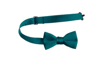 Load image into Gallery viewer, Solid Colored Adjustable Poly Satin Bow Ties (Caleb)