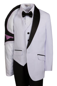1 Button Slim Fit Shawl Collar Dinner Jacket - Classic Colors (Max)