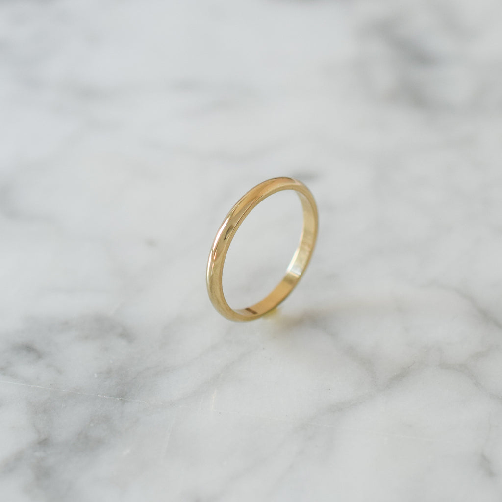 2mm Classic wedding band