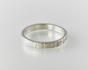 3mm textured ring