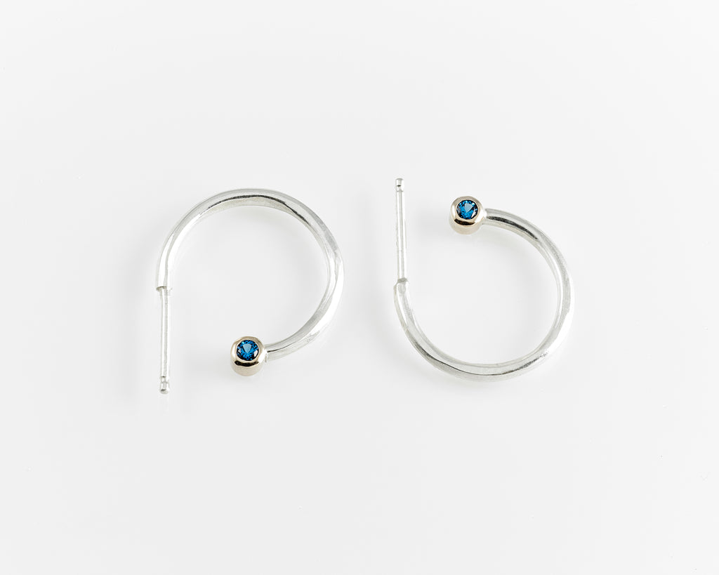 Sapphire Everyday Hoops