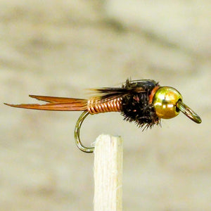 EZEYEFLY Big Eye Fly Copper John Bead Head