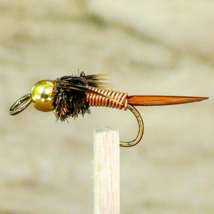 Copper John Bead Head EZEYEFLY Large Eye Fly