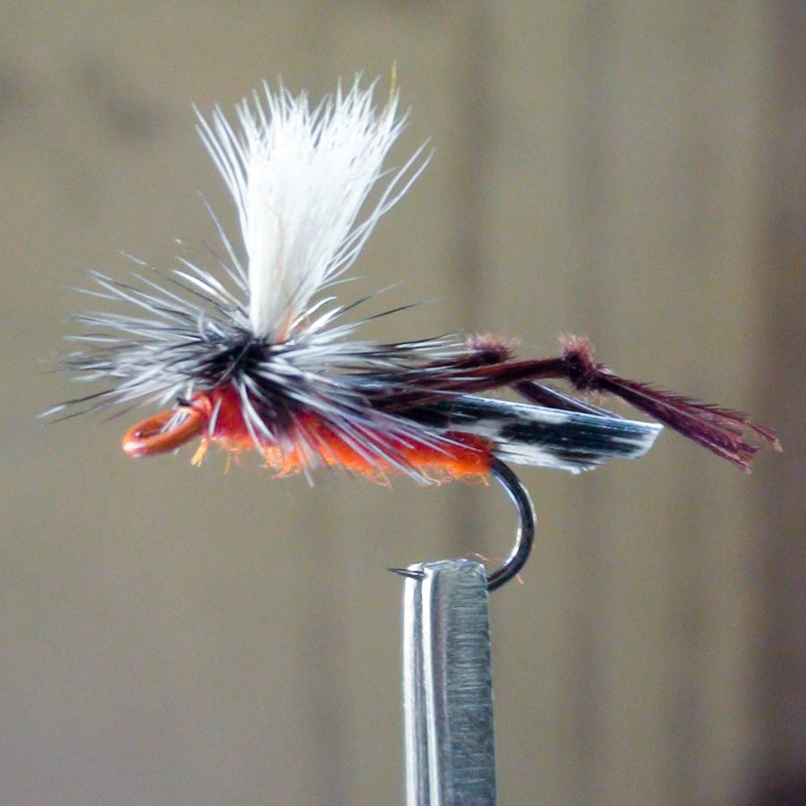 Hopper Parachute Orange Painted