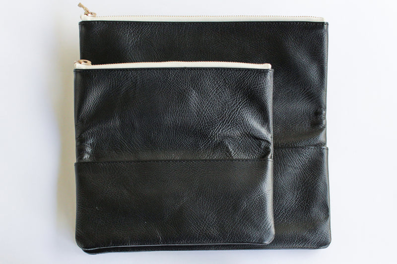 LEATHER POUCH・L - ref.