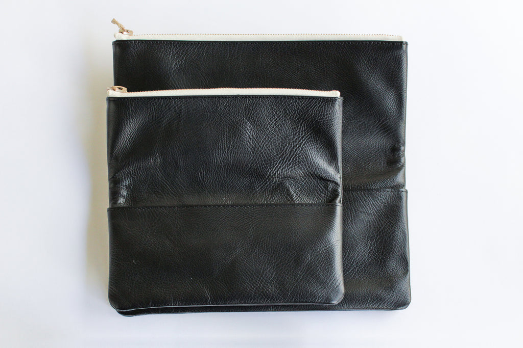 LEATHER POUCH・S - ref.