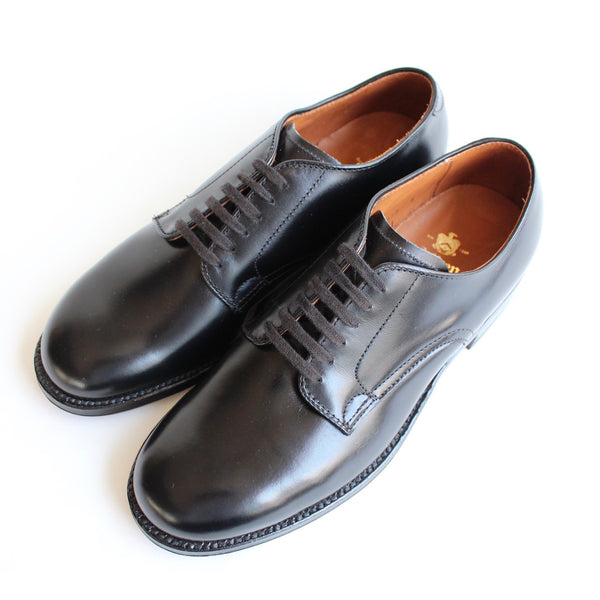 MILITARY PLAIN TOE OXFORD - ref.