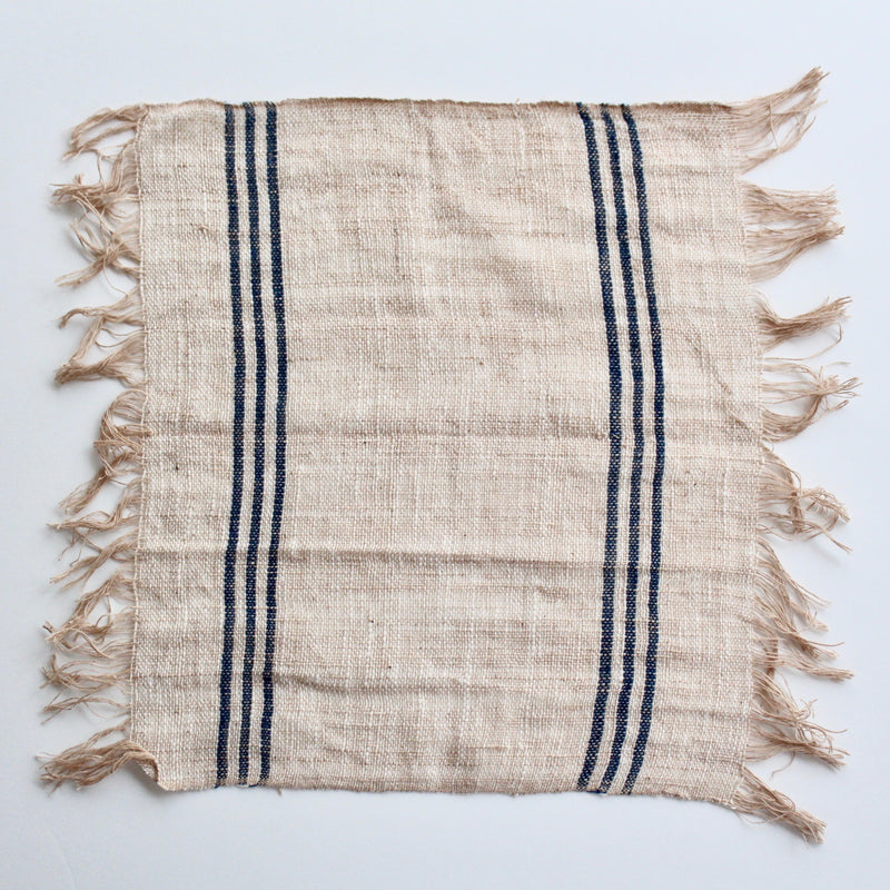 Handloomed napkin - ref.