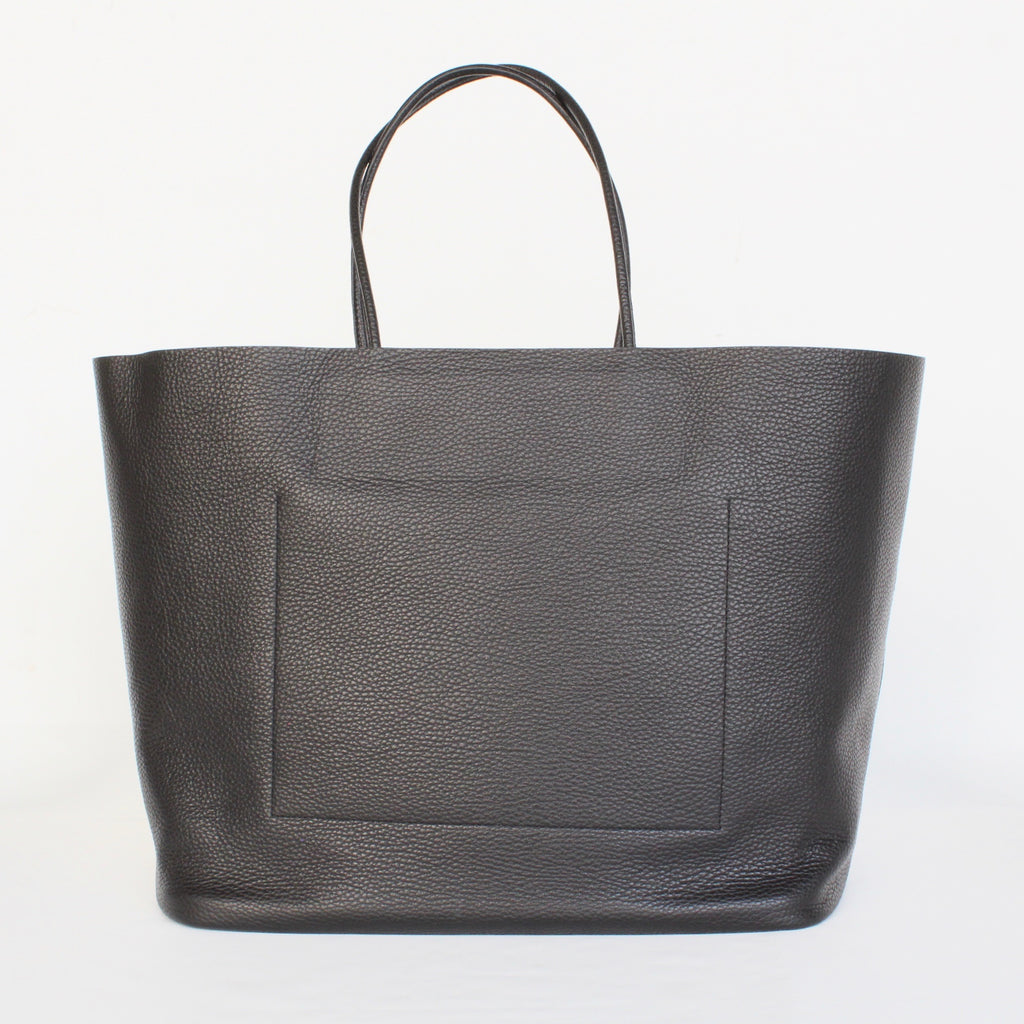 PG12 / PG LEATHER TOTE : L
