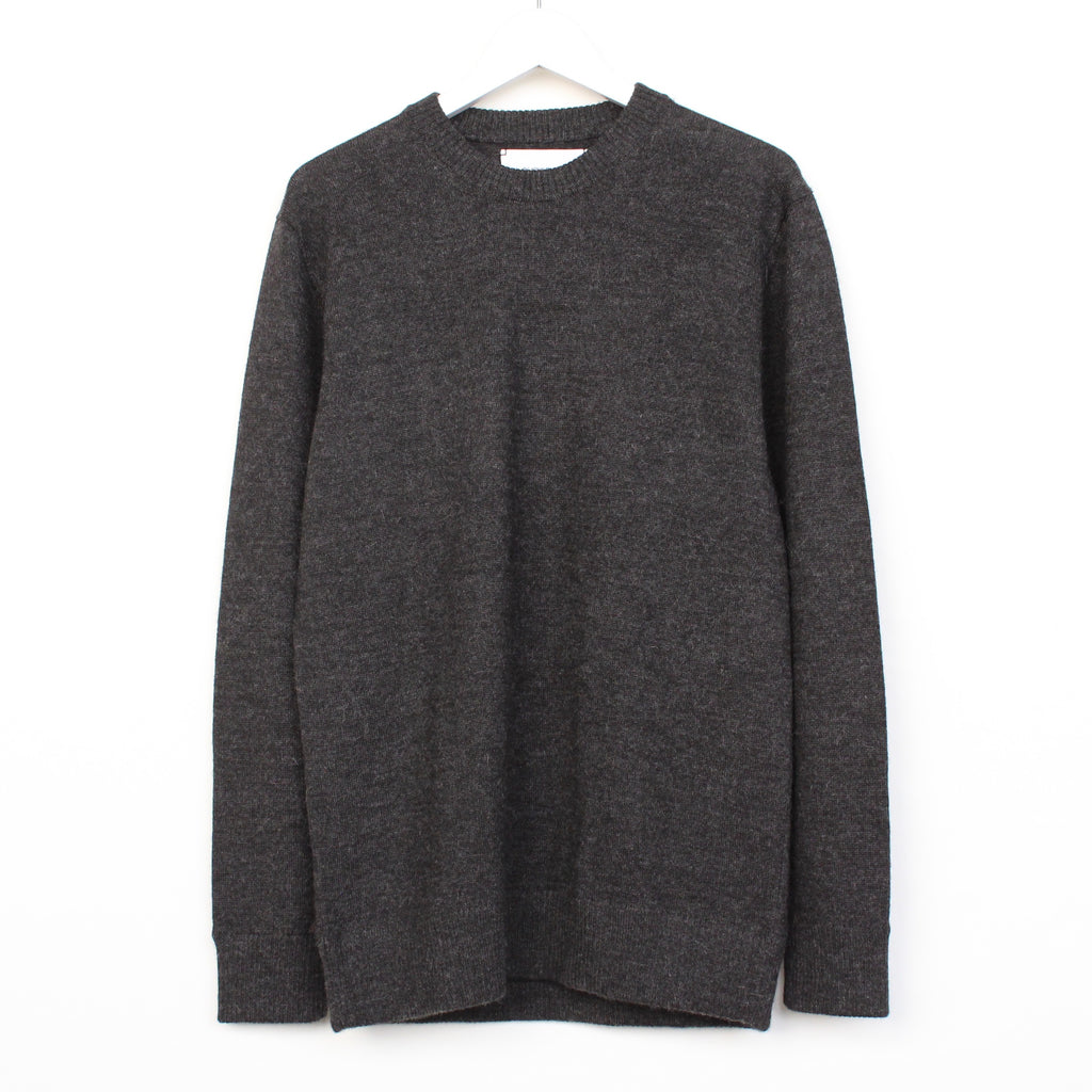 Crew Neck Jersey Sweater