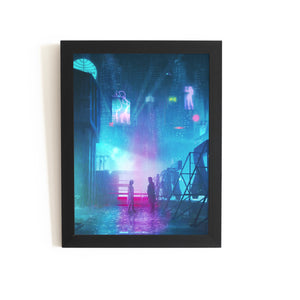"Blade Runner Painting Poster | Borderless | 8.5"" x 11"" - glossy Blade Runner 2049"