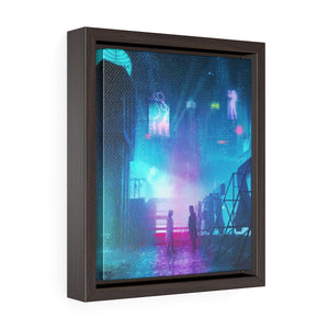 BLADE RUNNER Painting Poster | PRINTS | Blade Runner 2049 | Vertical Framed Premium Gallery Wrap Canvas - EGLOOP