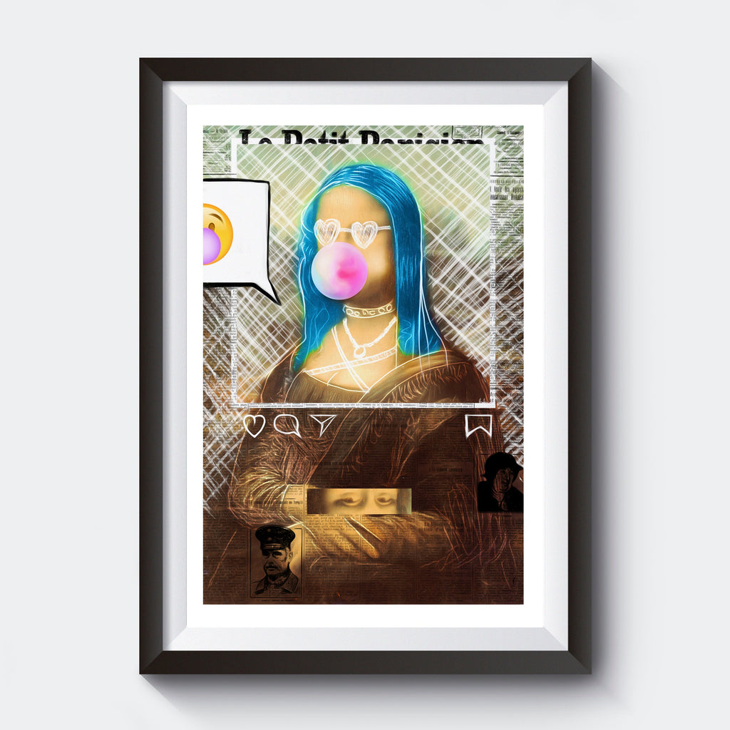 Vandalized Mona Lisa - EGLOOP