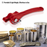 Red Smooth Edge Can Opener Professional