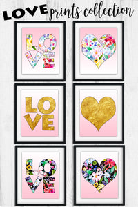 LOVE Collection 2 Print Sets