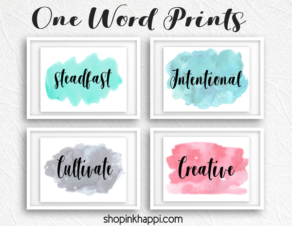 One Word Prints